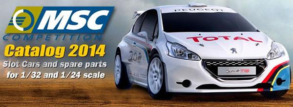 MSC Competition dévoile son catalogue pour 2014