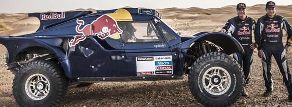 Maralic & RSC Le Buggy SMG de Sainz du Dakar 2014