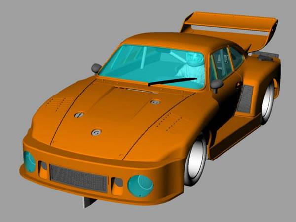 Porsche 935-77A Kremer K2