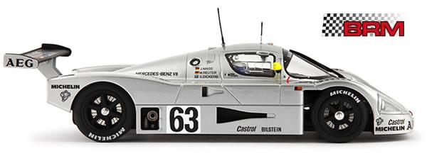 BRM Présente sa Sauber Mercedes C9 à l'échelle 1-24