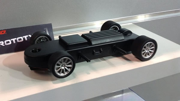 Ninco des détails sur le chassis de slot modulaire