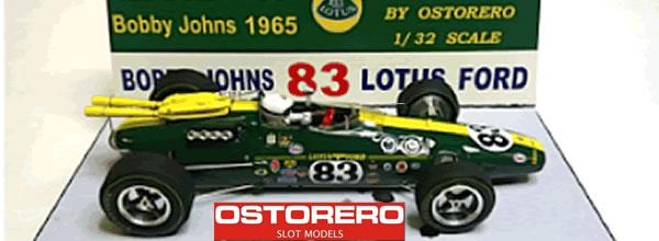 Ostorero: deux nouvelles Lotus 38 pour le slot
