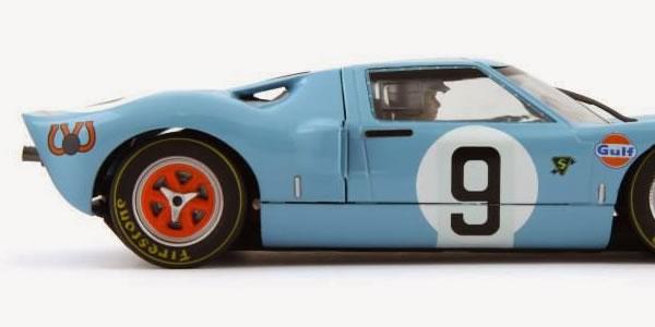 Slot it Ford GT40 #9 de 1968 CW16 en édition limitée