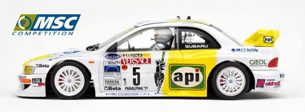 MSC Competition: La Subaru Imprezza WRC Api 2001 MSC-6030