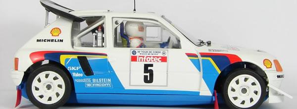 OSC: La Peugeot 205 T16 Evo 2 disponible le 10 mars