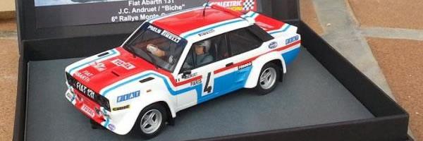 ScalextricPassion: Fiat Abarth 131 du Rallye Monte-Carlo 1978