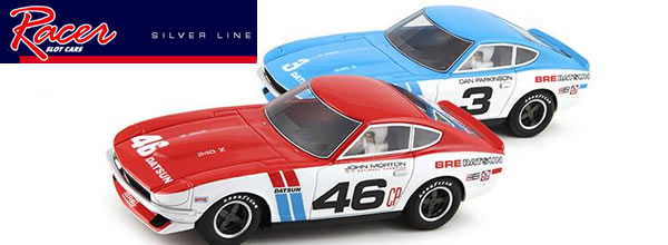 Silver Line: Deux superbes BRE Datsun 240Z