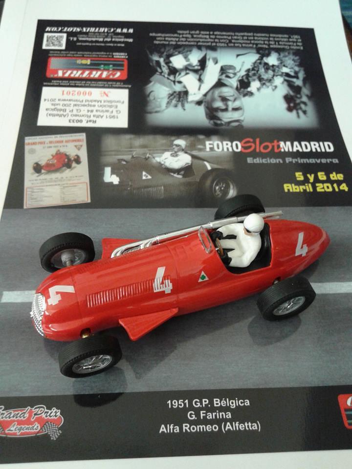 Cartrix L'Alfa Roméo 159 (Alfetta)  Grand Prix Legends