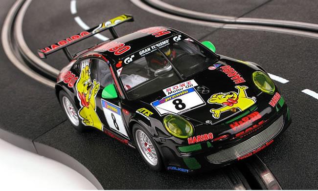 Carrera   La Porsche 911 GT3 RSR Haribo