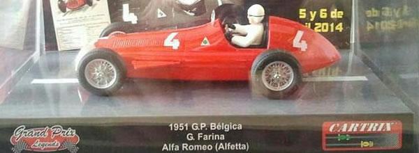 Cartrix: L'Alfa Roméo 159 (Alfetta)  dans la collection « Grand Prix Legends »