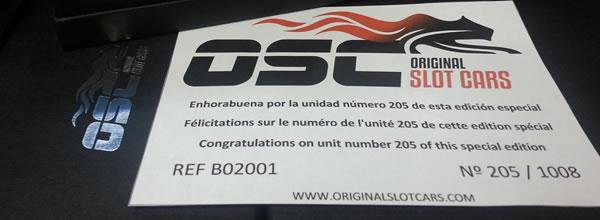 OSC la Peugeot 205 T16 Evo 2 numéro 205 sera française