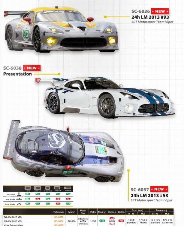 SRT Viper GTS Scaleauto à venir