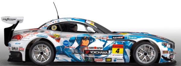 Scaleauto Voici la BMW Z4 GT3 Manga