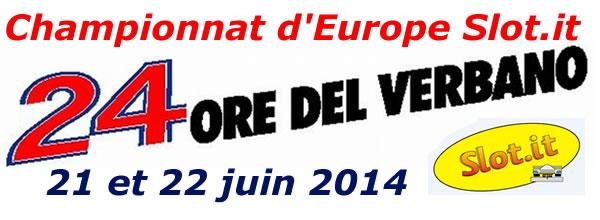 Slot it le Championnat d'Europe 2014 de Verbano est lancé