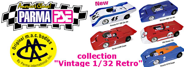 "Parma & M.A.C. Bodies: la collection ""Vintage 1/32 Retro"""