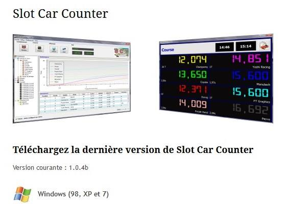 Slot Car Technology: Slot Car Counter