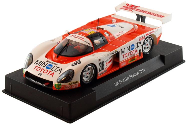 Slot it : Toyota 88C No.36 Le Mans 1988 - UK Slot Car Festival 2014