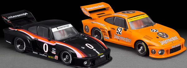 Scaleauto: Deux Porsche 935 Groupe 5 en photo