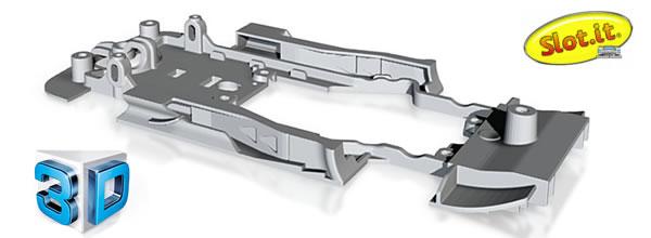 Slot.it: Des châssis en impression 3D pour équiper des DTM Carrera