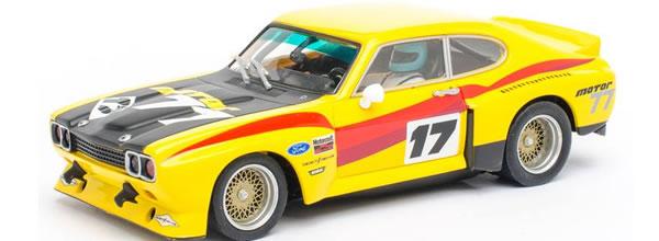 Carrera Une Ford Capri RS1300 pour le slot arrive