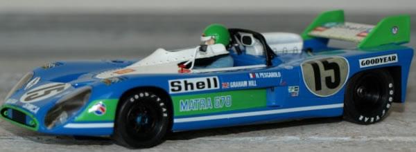 Le Mans miniatures Les Matra MS670 le Mans 72 arrivent