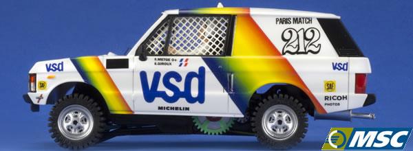 MSC Competition: présente son Range Rover VSD 1981