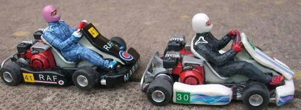 Penelope Pitlane: Un kit de Kart en résine pour le slot
