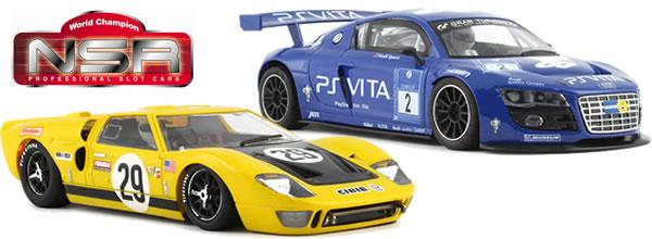 NSR Deux voitures de slot pour juin 2014