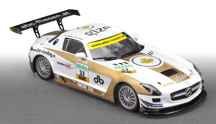 Scaleauto Mercedes SLS GT3 HEIC Motorsport SC-7028
