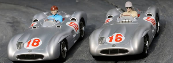 Top Slot : Un sublime coffret Mercedes W196 Monza TOP-7115