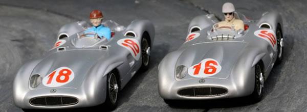 Top Slot : Un sublime coffret Mercedes W196 Monza TOP-7115