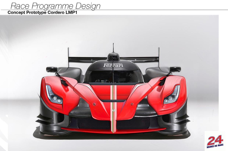 Ferrari: un concept de LMP1 affole l'internet