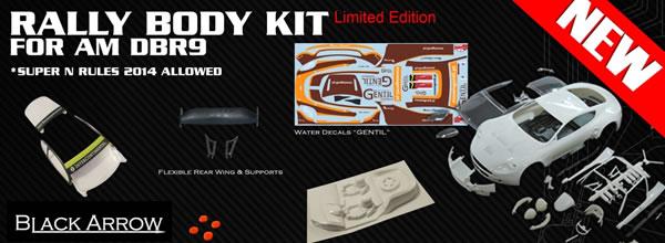 Black Arrow Kit carrosserie Rally Super-N GT Gentil