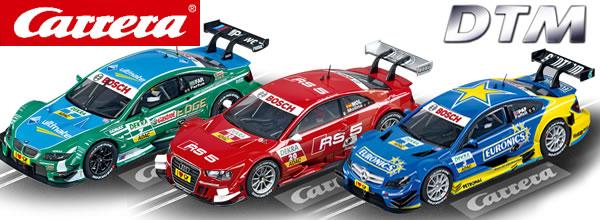Carrera: Trois nouvelles Slot Car DTM pour l'été