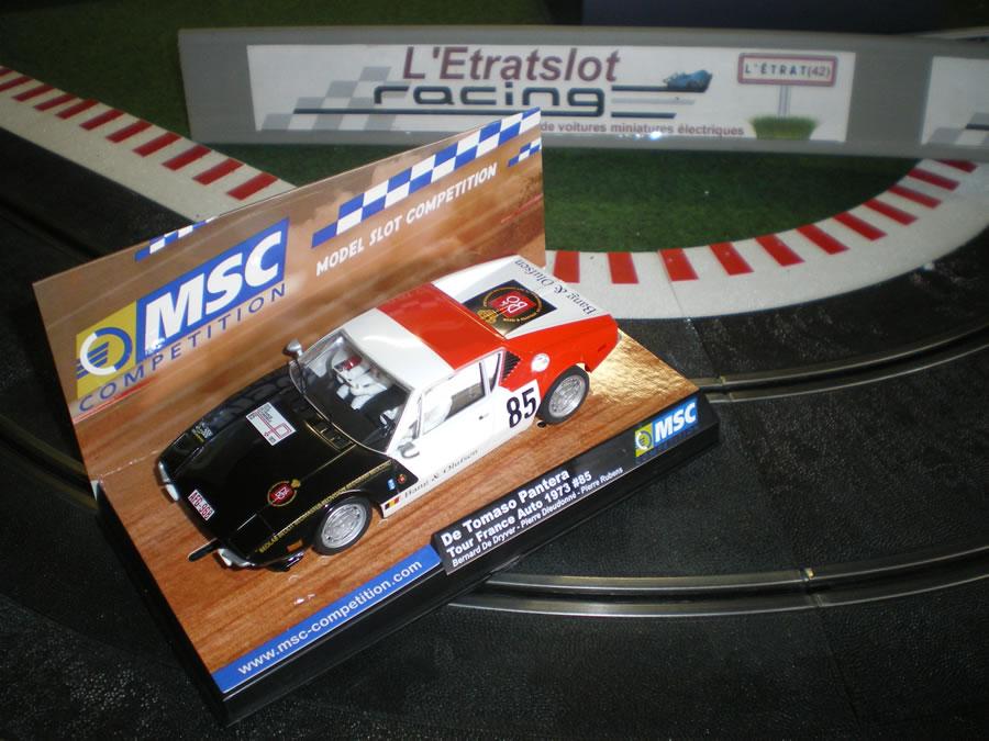 MSC Competition: Gagner une Pantera De Tomaso