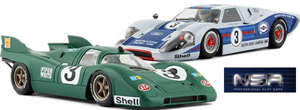 NSR Deux voitures de slot Classic juillet 2014