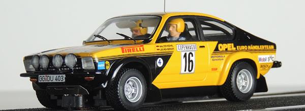 Otero Scale Model : Opel Kadett C GT/E 4E 1976