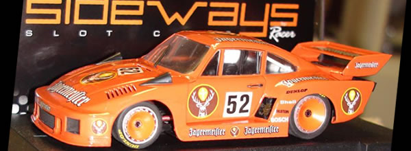 Sideways Porsche 935 77a & K2