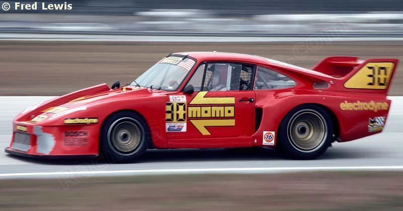 Porsche 935J 24h Daytona 1980 #30 Electrodyne