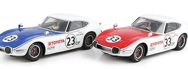 Racer Silver Line Deux Toyota 2000 GT Shelby en septembre