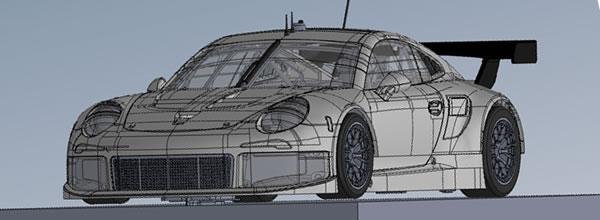 Scaleauto Une Porsche 911 RSR en préparation