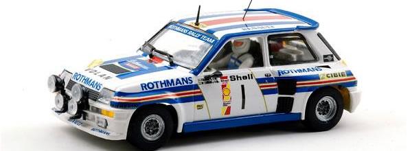 TeamSlot la Renault 5 Turbo Danube 1983