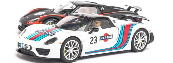 Carrera Deux Porsche 918 Spyder pour les circuits