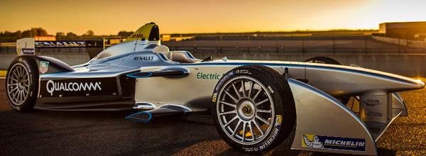 Formule E FIA Présentation de la SRT 01E SPark électrique