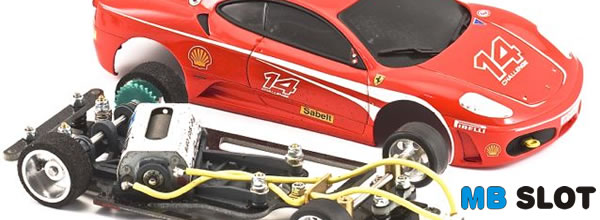 MB Slot un nouveau châssis pour la Ferrari F430