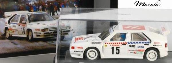 Maralic: présente la célèbre BX 4TC Citroën Groupe B