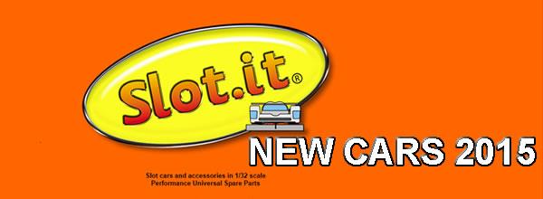 Slot it annonce ses voitures de slot pour 2015