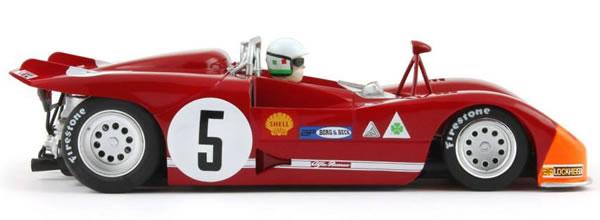 Slot it: l'Alfa Romeo 33/3 #5 1st Targa Florio 1971 CA11f