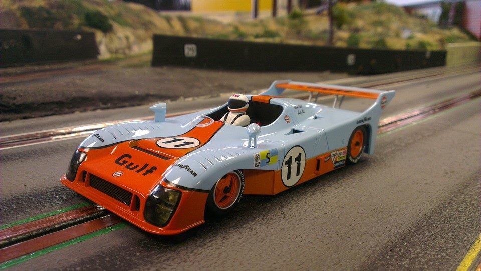Avant Slot: la Mirage Gr8 Le Mans 75 Gulf No.11 51202