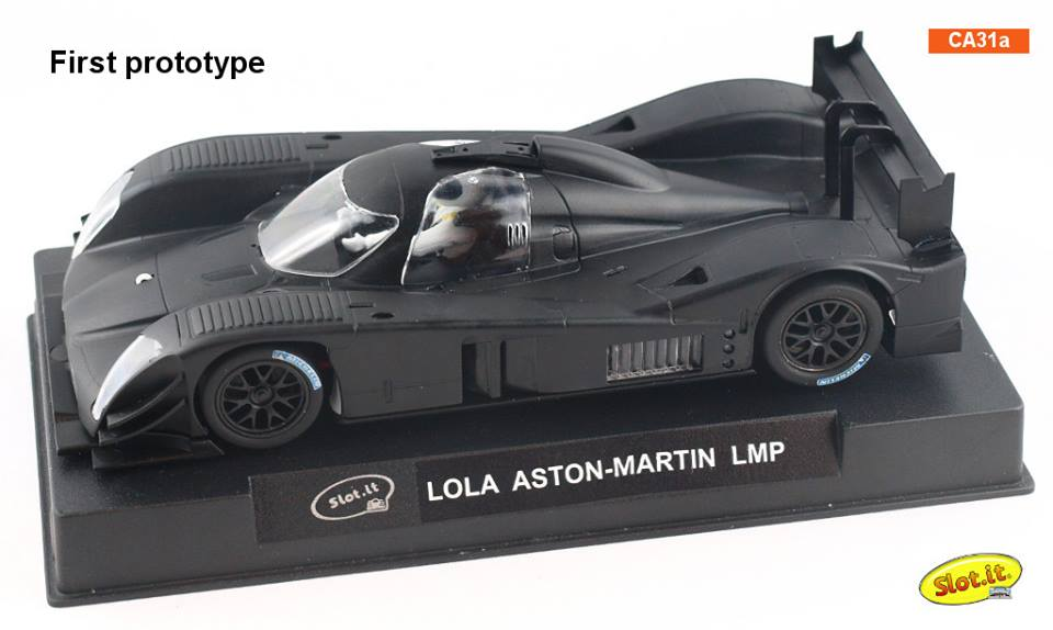 Slot it: Photos du prototype de la Lola Aston Martin DBR1-2